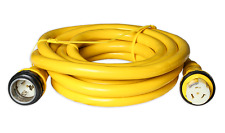 50A 125/250V Marine Shore Power Boat Cord 50' Yellow 50 amp 125/250 volt NEW