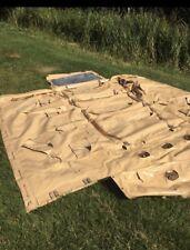 LAND ROVER MILITARE DEFENDER 110 WOLF MOD SOFT TOP tela in PVC cappuccio Titone Sabbia