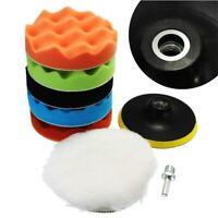 3Inch/5 Inch Buffing Waxing Polishing Sponge Pads Kit Set For Car Polisher Drill