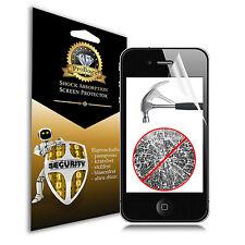 1 x PANZERFOLIE iPhone 4 4S Klar Clear Display Schutzfolie Folie von ProBagz