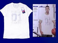 Uomo fitness Shirt T-shirt tempo libero Maglietta Taglia M-XL Nuovo