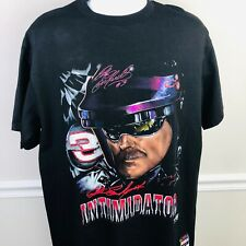 DALE EARNHARDT THE INTIMIDATOR - VTG 1990's NUTMEG MILLS NASCAR T SHIRT Large