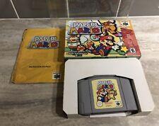 Paper Mario Nintendo 64. Australian PAL Cartridge