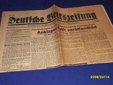 Deutsche Volkszeitung 19.10.1945 Anklageschrift veröffentlicht