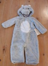 NWT Pottery Barn Kids BABY HIPPO Halloween Costume Toddler 12-24 Months