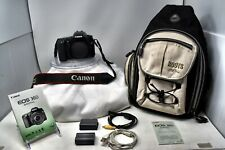 Canon EOS 30D 8.2MP Digital SLR Camera Body Only DS126131 Batteries Bag Tested