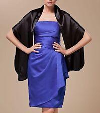 New Formal Evening Prom Dress Satin Shawl Wrap Stole