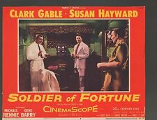 Soldier of Fortune 1955 11x14 Lobby Card #2