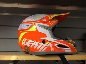 Leatt Adult Helmet GPX 5.5 Red Orange Motocross Enduro Quad ATV
