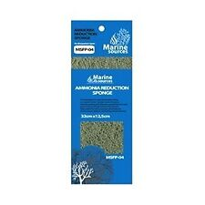 MARINE SOURCES Ammonia Reduction Sponge Pad | Aquarium Filter Media