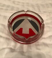 Marlboro Flavor Chase Glass Ashtray Tobacco Cigarettes Collectible