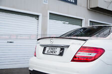 AMG Style Spoiler For 2011-2014 Mercedes-Benz C204 C-Class Coupe (MATT BLACK)