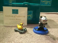 """WDCC Nightmare Before Christmas - Scary Teddy & Killer Duck """"Predatory Presents"""""""