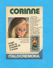 TOP976-PUBBLICITA'/ADVERTISING PAGE-1976- ITALOCREMONA -BAMBOLA CORINNE (vers.B)