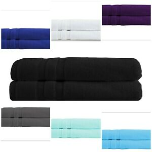 Luxury Jumbo Bath Sheets 100% Prime Egyptian Cotton Towels |100*200 cm