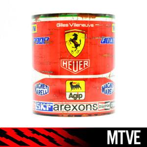 Vintage Gilles Villeneuve Ferrari Mug / Formula One / F1 / Racing Legend / Gift