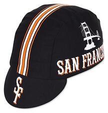 Pace San Francisco Sport Cap Cycling Bike Hat Black Cotton Koolfit Fixed Gear