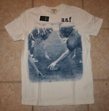 NWT Abercrombie Boys Large Muscle Fit Baldface Mountain Football T-Shirt