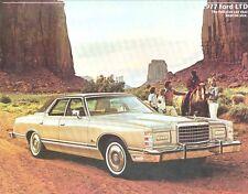 1977 Ford LTD Sales Brochure mw5366-ITS7BN