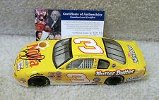 2002 Dale Earnhardt Jr AUTOGRAPHED PSA/DNA #3 Nilla Wafers Nutter Butter Monte
