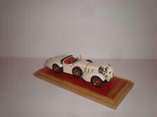 1/43 1930 Mercedes-Benz SS Roadster Erdmann & Rossi ivory open Handmade by EMC