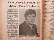 May 4-1975 Lancaster Pa TV Magazi(ROBERT FULLER/EMERGENCY!/PAT FINLEY/JEAN MARSH