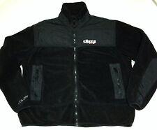 Castle X Racing Fleece Jacket Black Full Zip Adult Men's M/ Women's L