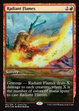 1x Radiant Flames - Foil - Game Day Promo NM-Mint, English Game Day and Store Ch
