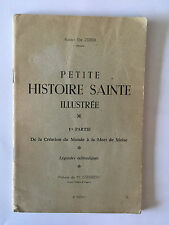 PETITE HISTOIRE SAINTE ILLUSTREE 1942 ELIE ZERBIB LEGENDES TALMUDIQUES