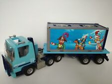 Playmobil 4447 - Blue Truck with trailer and Playmobil container