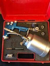 New listing Walcom Fz 92-Geo Hvlp Spray Gun w/ Case, Accessories and Paperwork