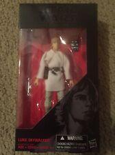 Star Wars Luke Skywalker The Black Series 6 Inch #21 Hasbro Free Shipping