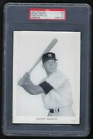 New York Yankees Mickey Mantle 1951 Wheaties Premium Photos  PSA 5  Rookie Card