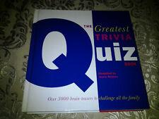 The Greatest Trivia Quiz Brainteaser Book