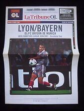 Orig.PRG   Champions League  2000/01   OLYMPIQUE LYON - BAYERN MÜNCHEN !! SELTEN