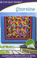 Shortline Quilt Pattern by Cozy Quilt Designs