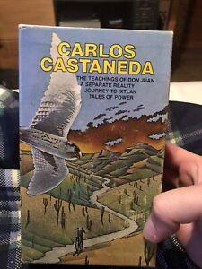 Carlos Castaneda 4 Paperback Book Box Set, Vintage