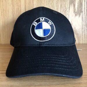 BRAND NEW (NWT) BMW Motors Car Black Adjustable Strap Hat Cap -MINT CONDITION!!!