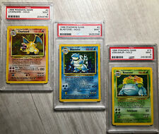 Pokemon Psa 9 Base Set Starters
