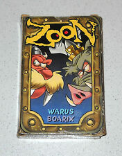 ZOON WARUS & BOARIX Card game - PERFETTO West end Games 1999 carte cards