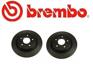 Set of 2 Brembo Rear  Brake Rotors (288mm Diameter)  Audi A4 & A4 Quattro
