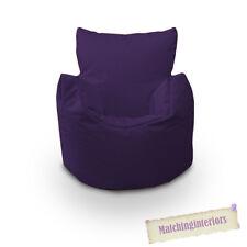 Violet Grain Chaise Enfants Résistant Aux Éclaboussures Intérieur Extérieur Pouf