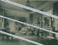 Schloss Wendland - am Starnberger See - Der Empire-Salon - um 1920       Y 8-21