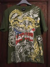 Tapout Mens Green Printed T-Shirt, Size Small, VGC!