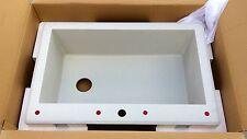 "SwanStone QZSB-3322 Single Bowl 33""x22"" Undermount/ Drop‑in Granite Kitchen Sink"