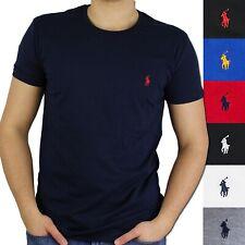 Ralph Lauren Herren T-Shirt Rundhals Ausschnitt Kurzarm Regular Fit S - XXL