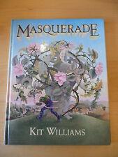RARE KIT WILLIAMS BOOK MASQUERADE 1ST/1ST 1979 GOLDEN HARE MYSTERY JONATHAN CAPE