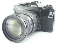 EX+3 Canon EF SLR Film Camera w/ Canon New NFD 35-105mm f/3.5 From JAPAN