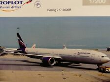 1/200 Herpa Aeroflot Boeing 777-300ER M.Kutuzov 556552 SONDERPREIS 52.99 €