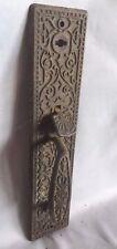 Antique Thumb latch Door Handle pull Old  Cast Iron Vtg Eastlake  296-17J